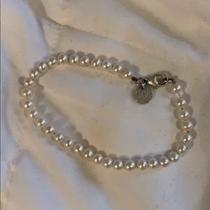 Tiffany and co small pearl bracelet